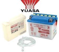 BATTERIE YB4LB YB4-LB YUASA + acide 12v 4ah Booster Derbi Nitro Spirit Ovetto