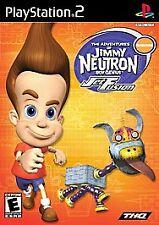 Adventures of Jimmy Neutron Boy Genius: Jet Fusion (Sony PlayStation 2, 2003)