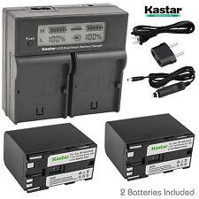 Kastar Battery Charger for Canon BP-970G BP-975 & EOS C100, EOS C100 Mark II