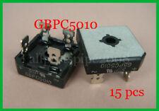 2p BRIDGE RECTIFIER -Model: GBPC5010 / 50A 1000V NEW ay