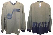 New Utah Jazz Mens M-L-XL-2XL-3XL-4XL-5XL +2 On Court Sweatshirt $130