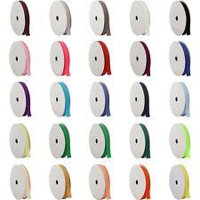 Plain Grosgrain Ribbon 9.5mm,16mm,25mm,38mm wide 100 meter roll Cheapest on Ebay