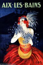 189798 AIX LES BAINS LAKE FASHIONPrint Poster Affiche