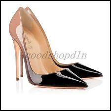 Sexy Women's Patene Leather OL Pumps Stilettos High Heels Party Dress Shoes 4-12