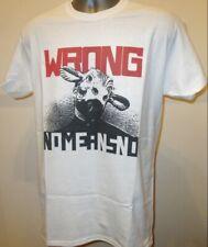 No means no wrong punk noise rock music album t shirt dead kennedys fugazi 190