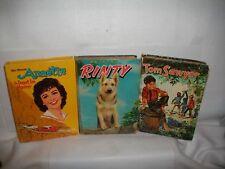 Vtg 1954 Rinty~1955 Tom Sawyer~1961 Annette~Whitman