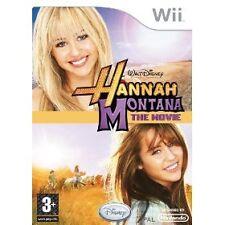 Hannah Montana: The Movie (Nintendo Wii, 2009) UK PAL NO MANUAL