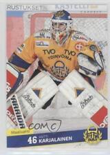 2016-17 Cardset Finland SM-Liiga #290 Antti Karjalainen Rookie Hockey Card