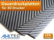 Carbon 3D Druck Dauerdruckplatte  für ABS PLA PETG HIPS PMMA Filament Druckplatt