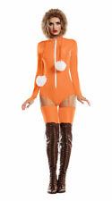 Sexy Starline McKenna Orange Hooded Romper South Park Kenny Costume S8035