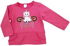 Neu! Disney Aristocats Marie Motiv Stretch Pullover Sweatshirt Shirt  80 86 92