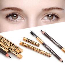 2 in 1 Eyebrow Waterproof Long lasting Pencil Automatic Rotation Eyebrown Pencil