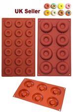 6,8 FORI STAMPO IN SILICONE CIAMBELLA 18 FORI Antiaderente Stampo Ciambella VASSOIO DA FORNO FORNO