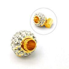 1 Magnetverschlüsse Magnetic clasp Schließe Strass Gold Verschlüsse