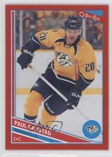 2013-14 O-Pee-Chee Wrapper Redemption Red Border #54 Paul Gaustad Hockey Card