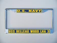 USS BELLEAU WOOD LHA 3 License Plate Frame U S Navy USN Military
