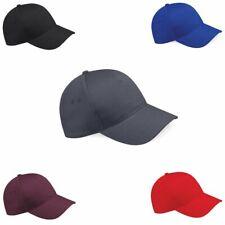 Beechfield Fitted-//Full-Cap Kappe Basecap SUEDE PEAK 5-PANEL CAP Neu CB658