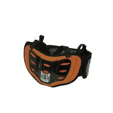 HRP K-Rib Wrap Orange ATV Motocross Offroad Motorcycle Riding Back Kidney Belt