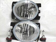 For 09-11 Pilot Driving GLASS Fog Light Lamp RL H One Pair W/2 Bulbs NEW