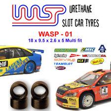 Wasp 01-uretano ranura de coche neumáticos-NINCO, Scx, MSC, Autoart, espíritu & Teamslot