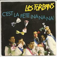 """LES FORBANS Vinyle 45 tours 7"""" C'EST LA FETE - GUITARE MEC - POLYDOR 883830 RARE"""