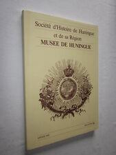 ALSACE BULLETIN 34 Société d'Histoire d'HUNINGUE et de sa REGION  1989