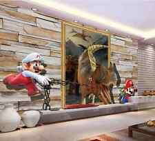 3D Mario Anime 616 Wallpaper Murals Wall Print Wallpaper Mural AJ WALL UK Summer