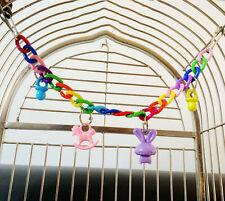 Pet Bird Parrot Swing Bites Chew Toy Parakeet Budgie Cockatiel Cag Toys Lovebird