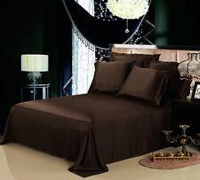 Super King Size 100% Cotone Egiziano 200TC Copripiumino Set di biancheria da letto + Federe