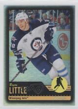 2012-13 O-Pee-Chee Black Rainbow Foil 301 Bryan Little Winnipeg Jets Hockey Card