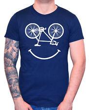 """Men's Ciclismo T-SHIRT """"BIKE"""" FACCIA DIVERTENTE andare IN BICI CICLO CICLISTA Regalo"""
