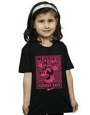 Disney Niñas Minnie Mouse Summer Party Camiseta