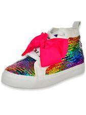 Jojo Siwa Girls' Hi-Top Sneakers (Sizes 12 - 4)