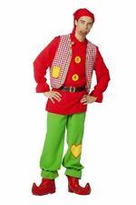 FFF - Herren Kostüm Zwerg Gartenzwerg Karneval Fasching