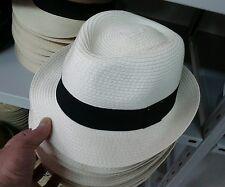 sombrero Cubano hombre verano paja de elegante de ceremonia fontana hat man