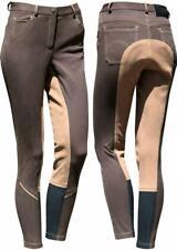 Harry's Horse Monaco denim sticky bum jodhpurs/breeches - Brown Harry's Horse