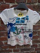 tee shirt  DESIGUAL taille 7/8 ans NEUF AVEC ETIQUETTE promo 8€ au lieu de 22€