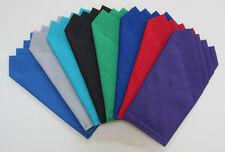 Pocket Squares - Custom Prefolded & Sewn - Square just slips in pocket