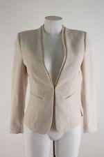 H&M Blazer NEU Gr. 36 / 38 Abendblazer Damen Jacke Jacket Creme
