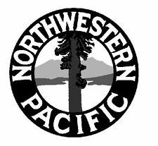 Northwestern Pacific Railroad TRAIN Sticker / Decal R655
