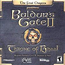 Baldur's Gate 2 Expansion: Throne of Bhaal - PC, New Windows 95, Windows 98, Pc