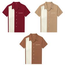 New Men Shirts  Street Punk Rockabilly Clothing Cowboy Shirts Plus Size Clothing