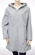 Manteau coupe vent imperméable DDP femme gris bleu doublé polaire