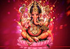 157197 Hindu Lord Ganesh Wall Print Poster CA
