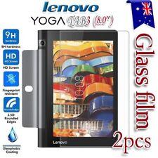 "2x Lenovo Yoga Tab 3 8.0""  Tempered Glass / Plastic Screen Protector Film Guard"