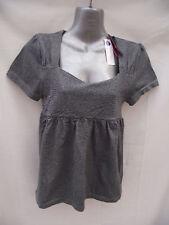BNWT Womens Sz 10/12 Bella B Wear Designer Grey Top