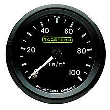Racetech manometro pressione olio meccanico