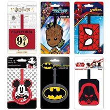 Genuine Branded PVC Luggage Tag Travel - Harry Potter Marvel DC Star Wars Disney