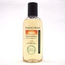 TRAVEL SIZE SHAMPOO & GEL WASH - 100ml Organic Toiletries for Face, Body & Hair