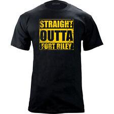 Original Straight Outta Fort Riley T-Shirt